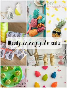 10 Cool Pineapple Crafts | Not Just A Mommy
