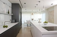 """your kitchen in luxurious way then you must checkout our 25 best collection of luxury modern kitchen, checkout """"25 Luxury Modern Kitchen Designs"""
