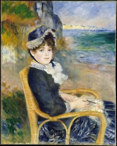 by the seashore pierre auguste renoir - Pesquisa Google