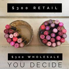 SenGence/LipSense Retail Pricing vs Distributor Pricing #cravelipsbykrista