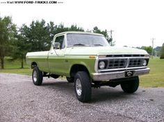 1974 f250 highboy truck | 1974 Ford F250 4x4 - 1974 highboy resto