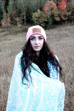 Pink Utah Live Elevated Beanie by Lady Scorpio Save 25% off all orders with code PINTERESTXO at checkout | Adventure Fashion Shop LadyScorpio101.com | @LadyScorpio101 ≫ Wearing an Everwear Bracelet (Shop Everwear101 on Etsy) : Photography Luna Blue @Luna8lue | Model Allie Slater enjoying Fall in Utah