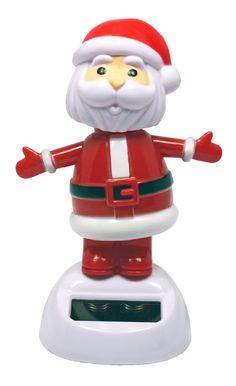 Solar Dancer Winter Holiday Santa Claus