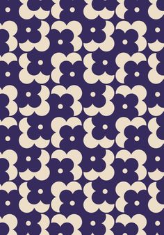 ORLA KIELY - FLOWER SHADOW DOT - NAVY