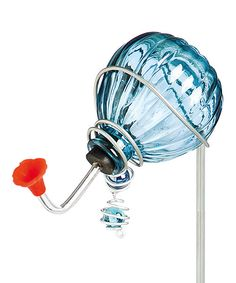 Look at this Blue Globe Hummingbird Feeder Stake on #zulily today!