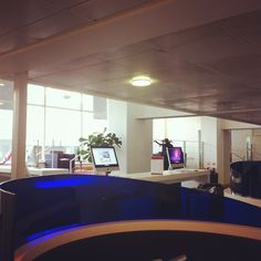 Another view from the business lounge at Regus Vic.