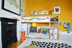 Eclectic, Bright And Whimsy Kids Room Design Inspiration | Kidsomania