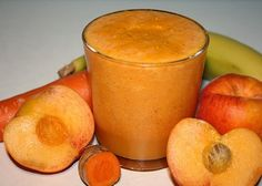1 cup coconut water      1 – 2 peaches (fresh or frozen) 