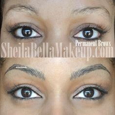 hair stroke permanent eyebrow - Google Search