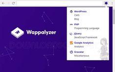 Wappalyzer a vu le jour en 2008 en tant qu'extension de Mozilla Firefox. Depuis lors / Télécharger Wappalyzer pour Google Chrome, Firefox et Edge Linux, Massachusetts Institute Of Technology, Melbourne, Software, Mozilla, Firefox, Navigateur Internet, Conception Web, Navigateur Web