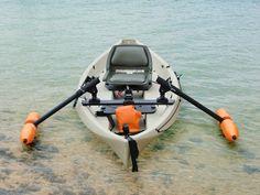 Canoe Outriggers - Standard Orange - Yak Gear  http://www.yak-gear.com/shop/kayak-gear-outriggers/canoe-outriggers-orange