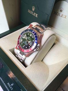 Rolex GMT 16710 pepsi serie D de 2006 revisée