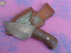 Hand Made Beautiful Custom Damascus Hunting knife
