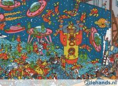 postkaart Waar is Wally / Marsmannen, Dino's en Demonen