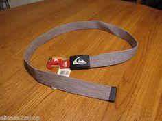 Mens Quiksilver adjustable belt one size surf skate brand NEW the juice heather