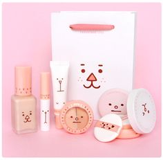 Saranghae Base Makeup Set [Eg Lips] 11Street #collection #essentials #face