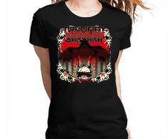 Crucified Barbara - In The Red Tshirt Camiseta Camisa Tee