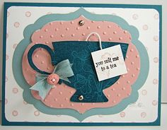 telescoping tea card
