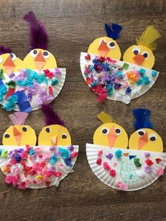 Over 90 Easter crafts that are Hippity Hoppity Happy # . - krippe - Over 90 Easter crafts that are Hippity Hoppity Happy - Toddler Art, Toddler Crafts, Easy Crafts For Toddlers, Easter Activities, Craft Activities, Spring Crafts For Kids, Art For Kids, Easter Crafts Kids, Summer Crafts