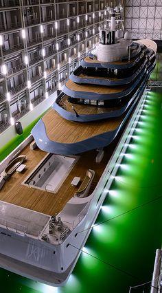 Oceanco Launches 110-Meter Superyacht