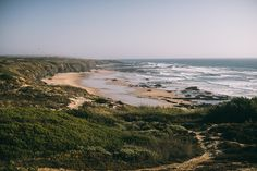 Portugal Road Trip with a Toddler - via What's for Breakfast Today 18-08-2017 | Portugal is breathtaking. Travelling around Portugal made me appreciate each little moment. Morning coffee on a beach, looking at the ocean, tasteful veggies and, obviously, all the traditional sweets. Photo: Praia do Brejo Largo