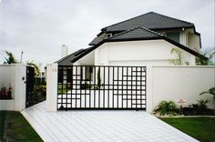 Contemporary gate design