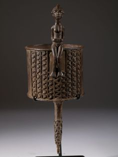 Africa | Bracelet from the Akan people, Ghana or Ivory Coast | Bronze | ca. mid to late 20th century | Sold