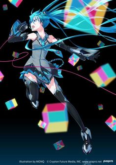 Magical Mirai Hatsune Miku art