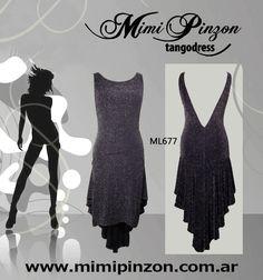 Vestido Tango Salón ML677