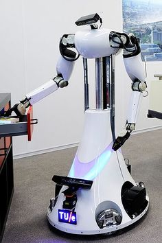 AMIGO is a service and care taking robot of the Eindhoven University of Technology.