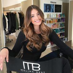 """MELINA BEST FRISEUR KÖLN  auf Instagram: """"@lorenara__ BEAUTIFUL❤️ Gezaubert wurde ein natürliches Balayage mit Olaplex  Leute Sie sieht in live sogar noch schöner aus #unbelievable """""""