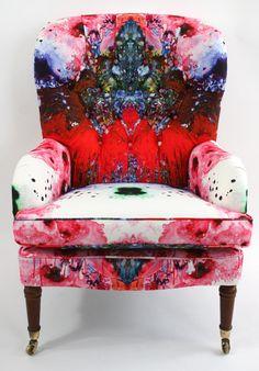 Omni Drips Button Back chair.
