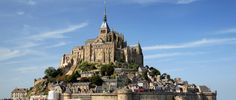 Mont Saint-Michel   Visited it but didn't climb the stairs because I was not feeling well that day