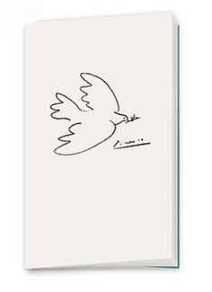 En la #LibreríaMPM encontrarás libretas y otros objetos con esta paloma de Picasso, inspirada en la que realizó para el cartel del Congreso Mundial por la Paz en abril de 1949, algunos años después de la II Guerra Mundial.  Visita la #LibreríaMPM en nuestra web > http://www.museopicassomalaga.org/es/tienda-libreria