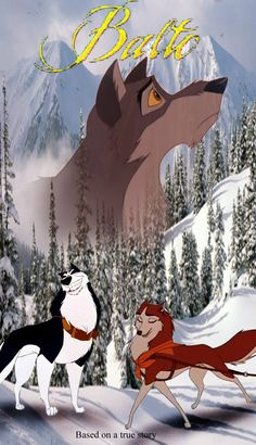 Balto..I want to watch this right now!