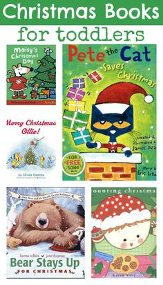 List of Christmas Books For Toddlers { What Christmas book does your toddler love?}