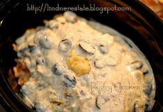 Pantry Chicken in the Slow Cooker