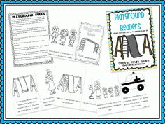 Playground Rules Fluency Sheet