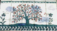 Tiled tree of life