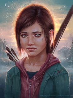 The Last Of Us - Ellie by Inna-Vjuzhanina.deviantart.com on @DeviantArt
