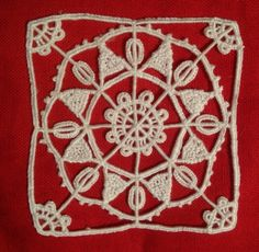 Reticello needlelace
