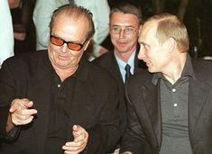 С Джеком Николсоном, Николина Гора, 2001 год Cynthia Go, Russia Putin, News Anchor, Vladimir Putin, Jack Nicholson, Supermodels, Pilot, Celebs, Singer