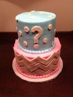Baby Shower - Gender Reveal Cake