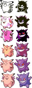 "thedankestmemehustler: "" br00taldan: "" Relationship aesthetic goals "" goes up to a couple: ""so which one of you is the clefable and which one of you is the gengar"" """