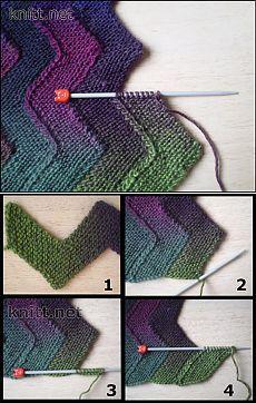 Zigzag blanket with 10 loops Zigzag blanket with 10 loops, blanketSky ladder - knitting patternTejidos a Ganchillo - Cuello Bufanda con Trenza en a Crochet. Knitting Charts, Knitting Stitches, Baby Knitting, Crochet Double, Knit Or Crochet, Knitting Projects, Crochet Projects, Knitting Patterns, Crochet Patterns