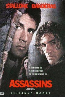 """Assassins"" was released in 1995, and it is still one of the best movies about snipers. ""Assassins"" is a movie about dueling snipers. Robert Rath, played by Sylvester Stallone, is paid to assassinate the same person as Miguel Bain, played by Antonio Banderas. After the first time that Bain kills Rath's mark before him, it becomes a serious battle to see who can kill the next mark first."