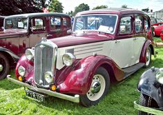 1939 Wolseley 14/60 Series II with 1.8L Twin-Carb 6-cylinder OHV 60Bhp Engine