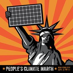 America wants renewable energy. People's Climate March graphic from the Sierra Club. #PeoplesClimate #ClimateMarch