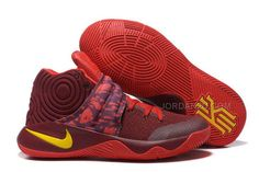 """detailed look 69f27 a336e Find Discount Nike Kyrie 2 """"Cavs"""" PE Wine Red Yellow online or in  Yeezyboost. Shop Top Brands and the latest styles Discount Nike Kyrie 2  """"Cavs"""" PE Wine Red ..."""
