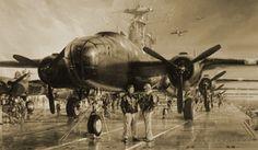 John Shaw Aviation Art: The Hornet's Nest - Special UK Edition